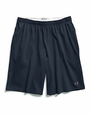 Champion Big Mens Jersey Shorts w Pockets Athletic Sports 4 Colors Sizes 3XL-6XL
