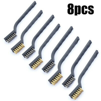 Stainless steel Wire brush Set 32*12mm Accessories For scrubbing Dust remover