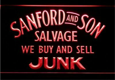 Sanford and Son Salvage Buy Sell Junk Bar Beer pub club 3d signs LED Neon Sign