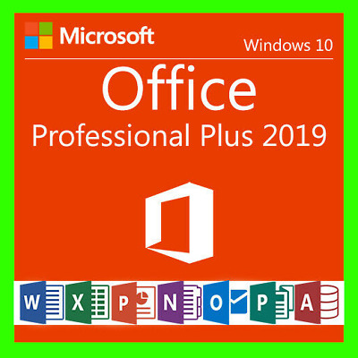 Microsoft Office 2019 Professional Plus - Product License Key Lifetime 32/64 bit