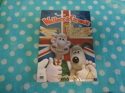 Wallace and Gromit: The Complete Collection DVD (2009) Nick Park cert PG,freep+p