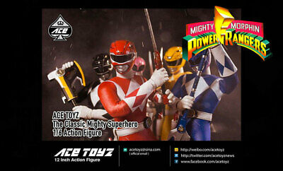 ACE TOYZ CMSH-00 POWER RANGERS THE CLASSIC MIGHTY SUPER HERO BOX SET 5 Coupon