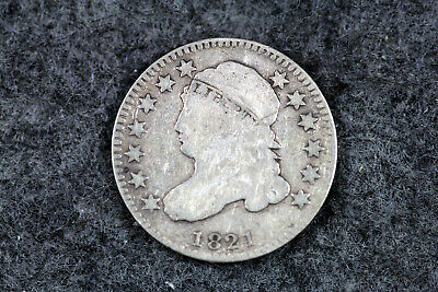 ESTATE FIND 1821 Capped Bust Dime  #D20307
