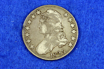 Estate Find 1825 Capped Bust Half Dollar  #D10757