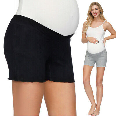 Women Maternity Soft Breathable Panties Underwear Briefs Elastic Waist Shorts