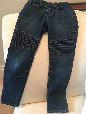 Gap Boys Jeans Regular Standard Authentic Stretch Skinny Age 7 Adjustable Waist