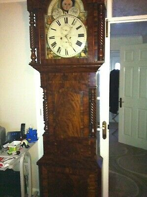 Majestic Mahogany 8 Day Longcase/grandfather Clock