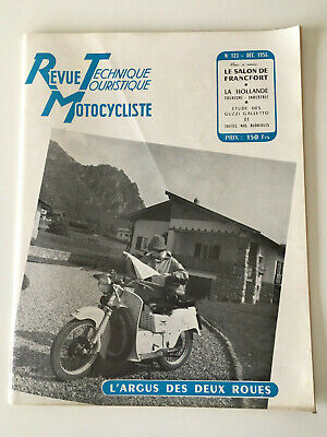 Revue Technique Motocycliste GUZZI GALLETTO 1956 N°123