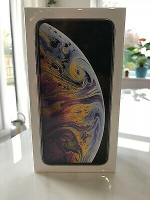 Apple iPhone XS Max - 512GB - Silver (Unlocked) A2101 (GSM)