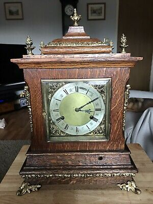Extremely Nice Wilcock Westminster Chimes Clock With Frets Multi On Multi Gongs