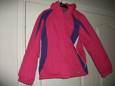 Pink Girls Skiing  Jacket from Mountain Warehouse aged 13 great condition