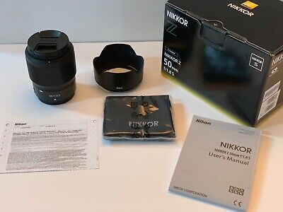 Nikon NIKKOR Z 50mm F/1.8 S Lens - Mint, USA Boxes