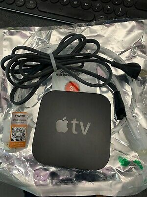 Apple TV (3rd Generation) 8GB HD Media Streamer A1427 - Includes power and hdmi