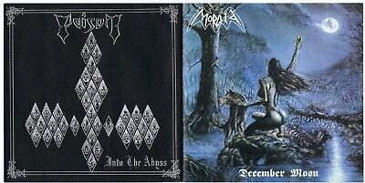 Poison / Morbid - Into The Abyss / December Moon split CD