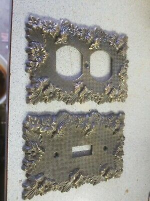 Antique Brass Wall Plates Plug And Light Switch