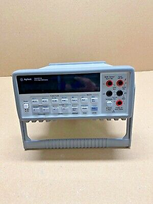 Agilent 34401A 6 1/2 Digit Digital Multimeter with Handle