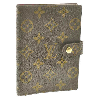 LOUIS VUITTON Monogram Agenda PM Day Planner Cover R20005 LV Auth 12078 **Sticky