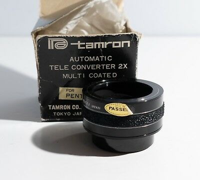 pentax screw mount tamron teleconverter