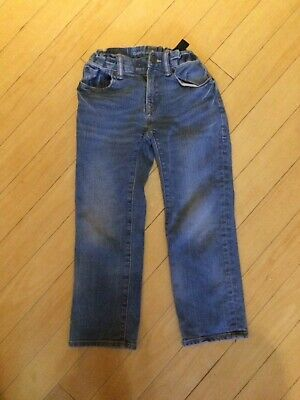 Boys Blue Gap Straight Leg Jeans Age 6yrs Good Used Condition.