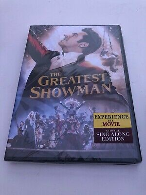 The Greatest Showman (DVD, 2019 - Hugh Jackman) New & Sealed FREE Shipping N7