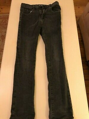 Gap Kids 1969 boys black/charcoal skinny jeans, size 13 (XL/TG) regular/standard