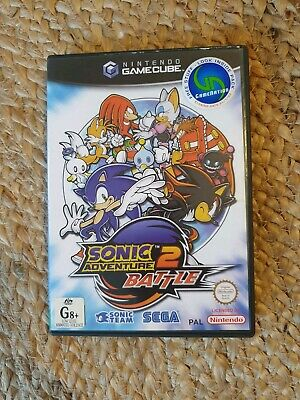 Sonic Adventure 2, Battle. For Nintendo Gamecube, PAL.