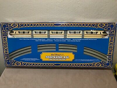 Walt Disney World Monorail Set yellow Theme Park As Is for parts