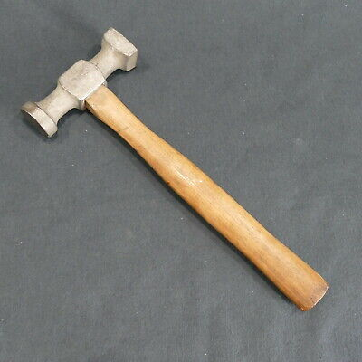 Vintage Auto Body Hammer with Round and Square Heads