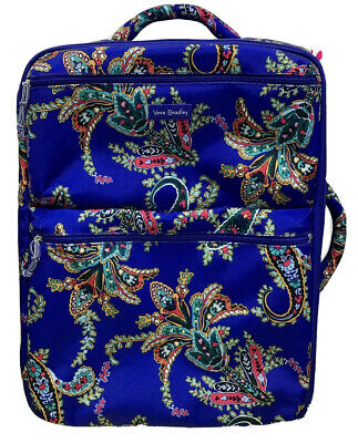 Vera Bradley Luggage Lighten Up Small Foldable Roller in Romantic Paisley