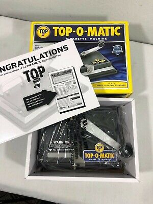 New! Top-O-Matic Cigarette Rolling Machine (Opened & Never Used!)