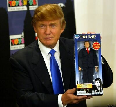 "2004 The Apprentice Donald J. Trump 12"" Talking Doll"