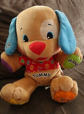 "FISHER-PRICE ""ABC Puppy Dog"" Cute Interactive Kids Battery Powered Soft Toy"