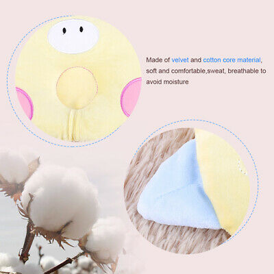 Baby Infant Newborn Prevent Flat Head Neck Anti Roll Support Memory Foam Pillow