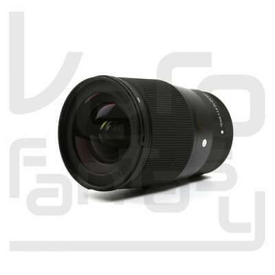 NEW Sigma 16mm f/1.4 DC DN Contemporary Lens for Canon EF-M