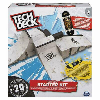 Tech Deck Fingerboard Starter Kit Ramp Set and Board Brand New Fast Postage