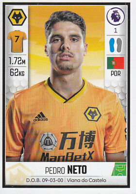 Panini Football - Premier League 2019-2020 - Pedro Neto - Wolves - # 627