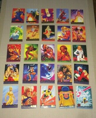 1995 Fleer Ultra X-Men  25 Card Lot