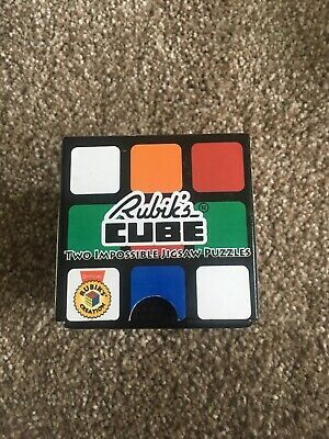 Rubik's Cube Two Impossible Jigsaw Puzzles