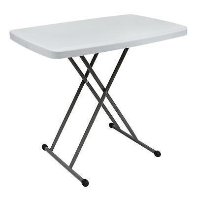 Heavy Duty Folding Table Portable Plastic Camping Garden Party Trestle BBQ 2.5FT
