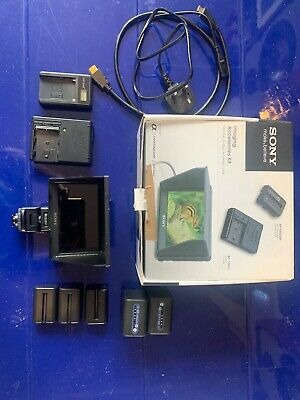 Sony Clm-v55 5 Inch Monitor Boxed With Extras