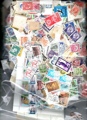 400+ grams Foreign Stamps Kiloware OFF-PAPER World-Wide Mint & Used NO GB