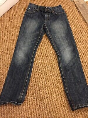 Boys Next Dark Denim Jeans Regular Size 10 Year 140cm