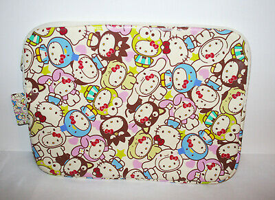 NEW SANRIO Hello Kitty & Friends 50th Anniversary Laptop Case Bag NWT