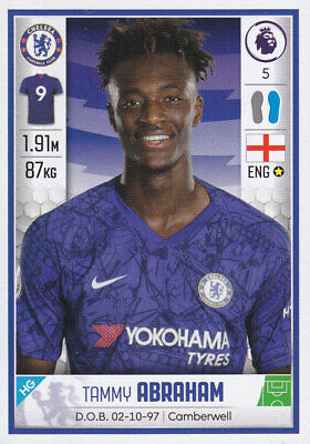 Panini Football - Premier League 2019-2020 - Tammy Abraham - Chelsea - # 185