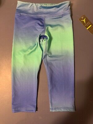Old Navy Girls crop leggings size small, Blue, Brand new with tags