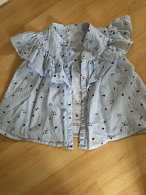Girls Blouse Mothercare Age 2/3 Years