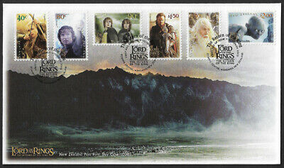 2003 New Zealand Lord Of The Rings stamp First Day Cover