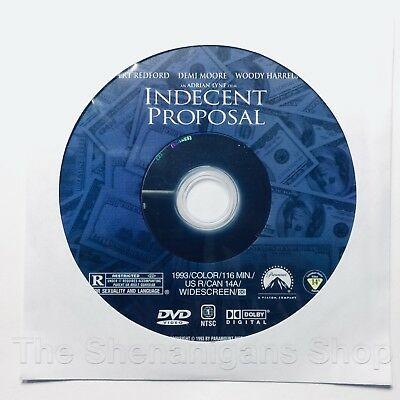 Indecent Proposal (DVD Widescreen) *Disc Only* (Not a Rental) Shipping Discounts