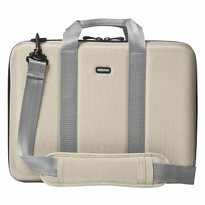 "NEW Cocoon CLB403ST 15"" 16"" Laptop Notebook Case Bag Beige GRID-IT Organizer"