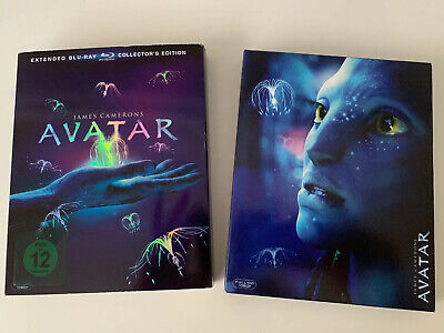 Avatar - Extended Collector's Edition Blu-ray - Neuwertig - 3 Discs